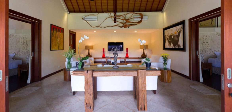 Lounge room at Villa San, Ubud