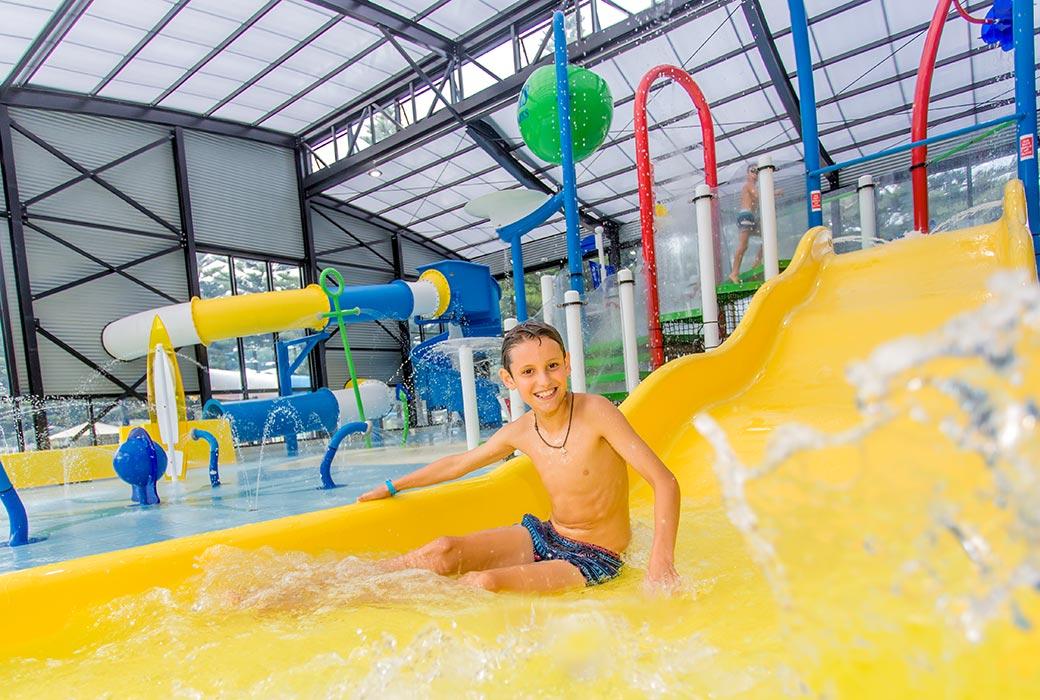 Indoor Splash Park at BIG4 Narooma Easts Holiday Park