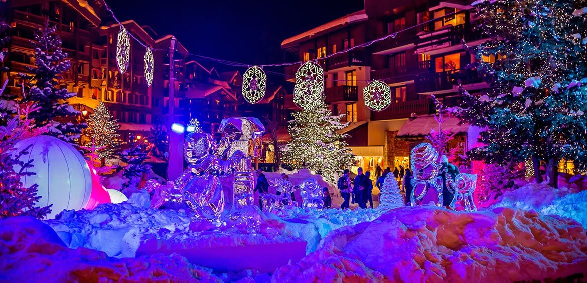 Christmas at Val d'Isère
