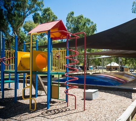 Playground at Time Out Holiday Park