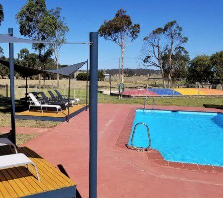 Pool at Swan Reach Holiday Park