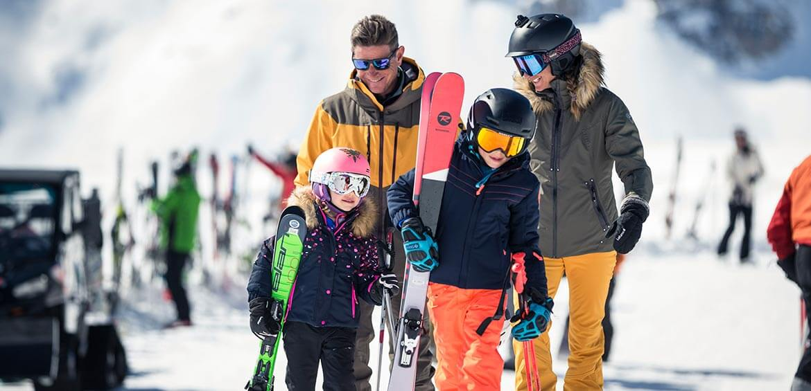 Ski family holiday at Val d'Isère