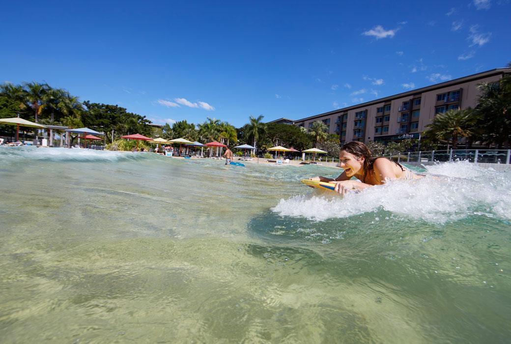 Wave lagoon at Darwin Waterfront