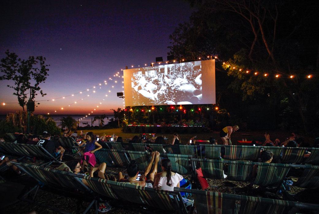 Tropical night at the Deckchair Cinema