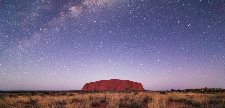 Uluru by night © Tourism NT/Luke Tscharke