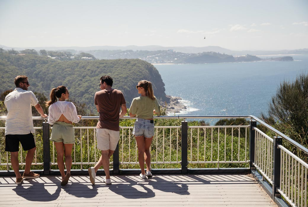 Captain Cook Lookout, Copacabana Central Coast