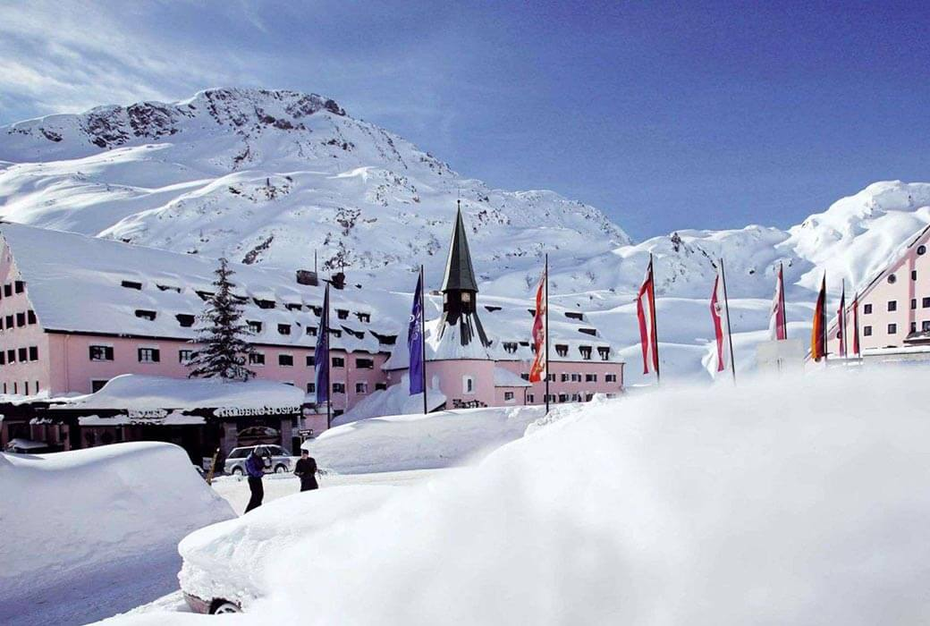 Arlberg Hospiz Hotel, St Christoph, Europe's best family ski resorts
