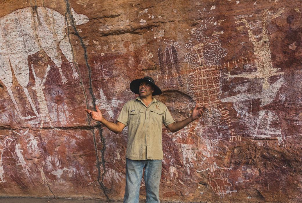 Jarramali Rock Art Tours Magnificent Rock Art Gallery