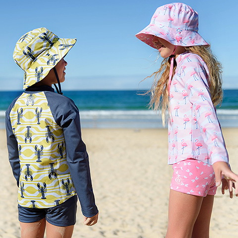 Win A UPF50+ swimwear set for the whole family