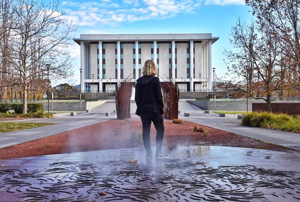 Reconcilliation place, Canberra