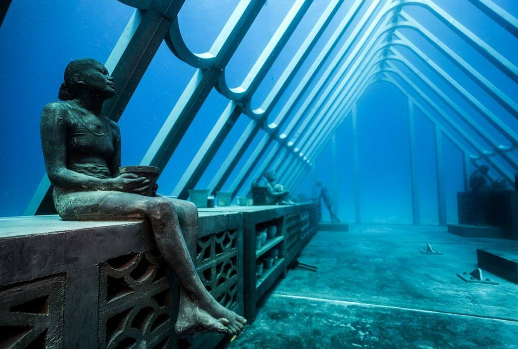 The Southern Hemisphere's first underwater museum