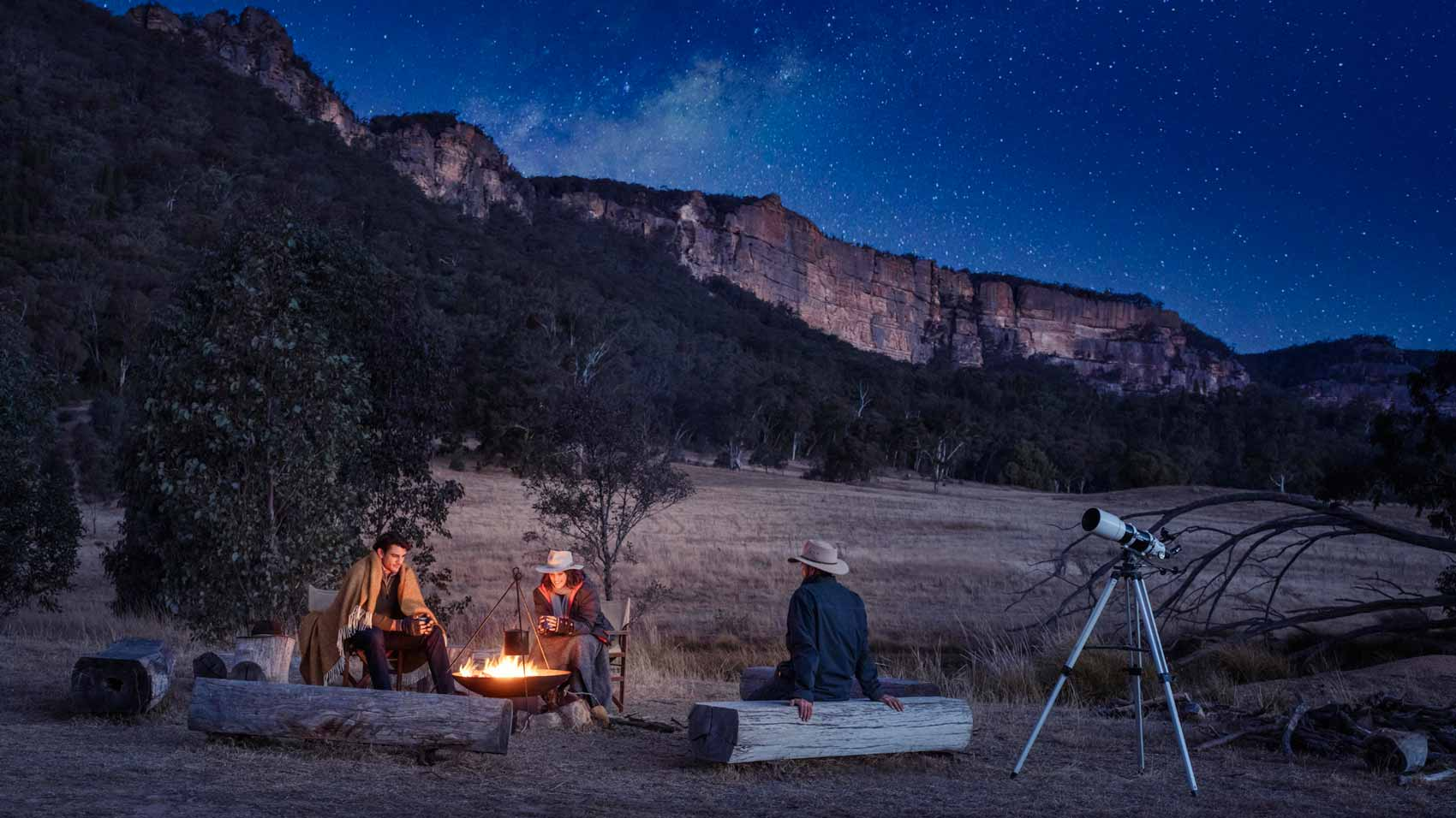 Stargazing at Emirates One&Only Wolgan Valley