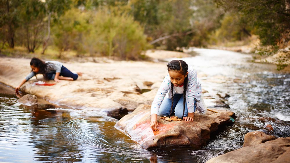 Kids activities at Emirates One&Only Wolgan Valley