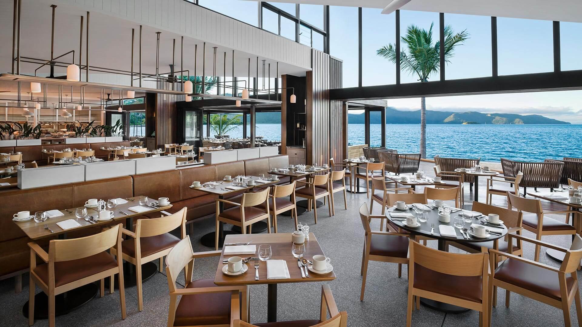 Pacific Restaurant at InterContinental Hayman Island Resort