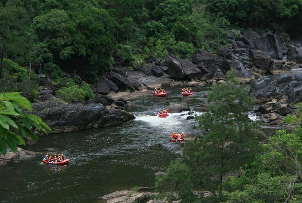 White Water Rafting with Cairns Adventure Group