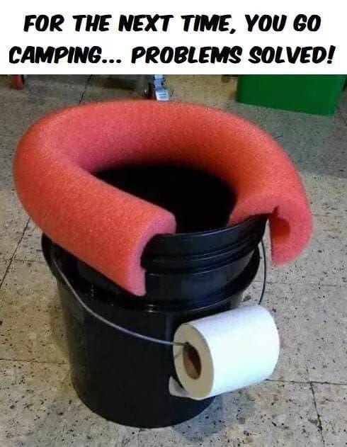 portable camping toilets