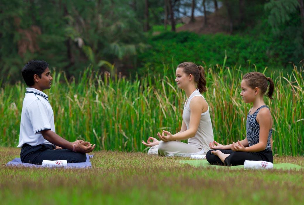 Angsana Laguna Phuket Yoga classes