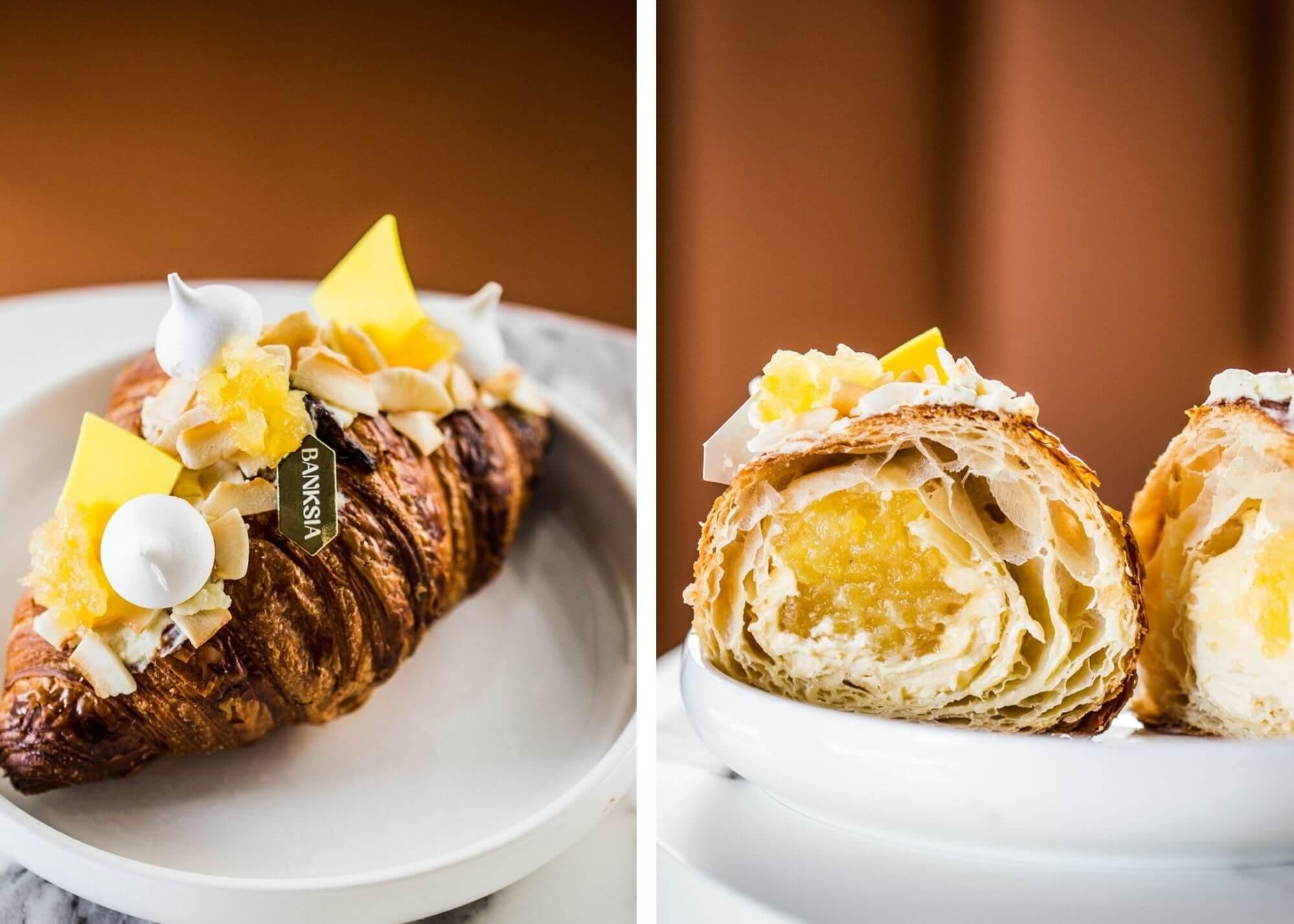 Banksia Bakehouse pina colada croissant