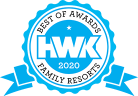 Holidays with Kids Best Resorts Awards 2020 logo