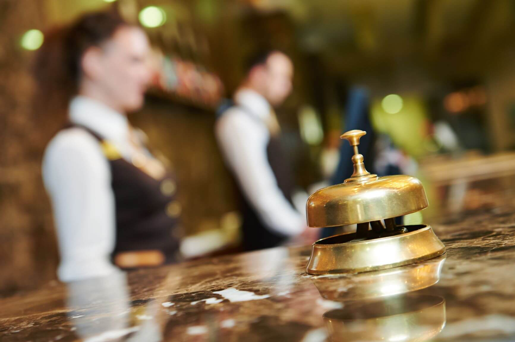 Hotel deals reception