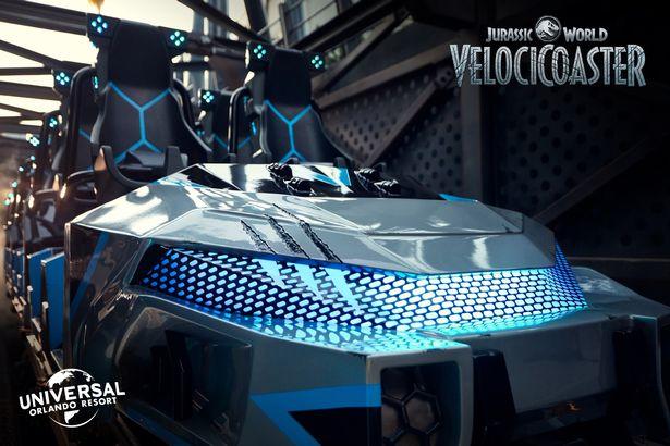 Universal Studios Velocicoaster
