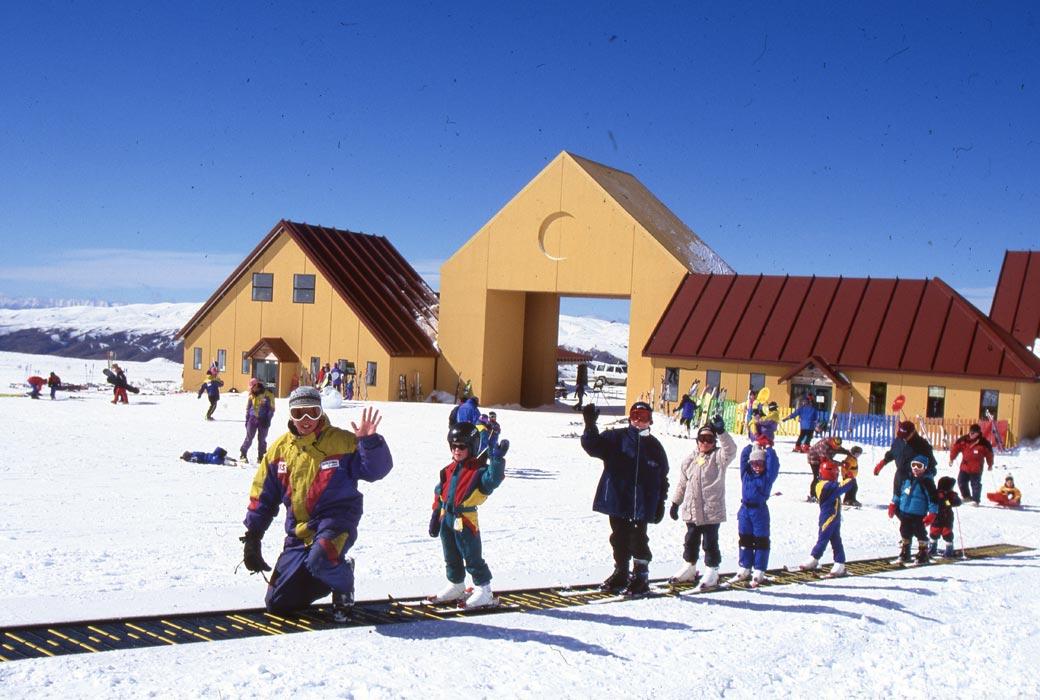 Cardrona Ski School in the 1990's