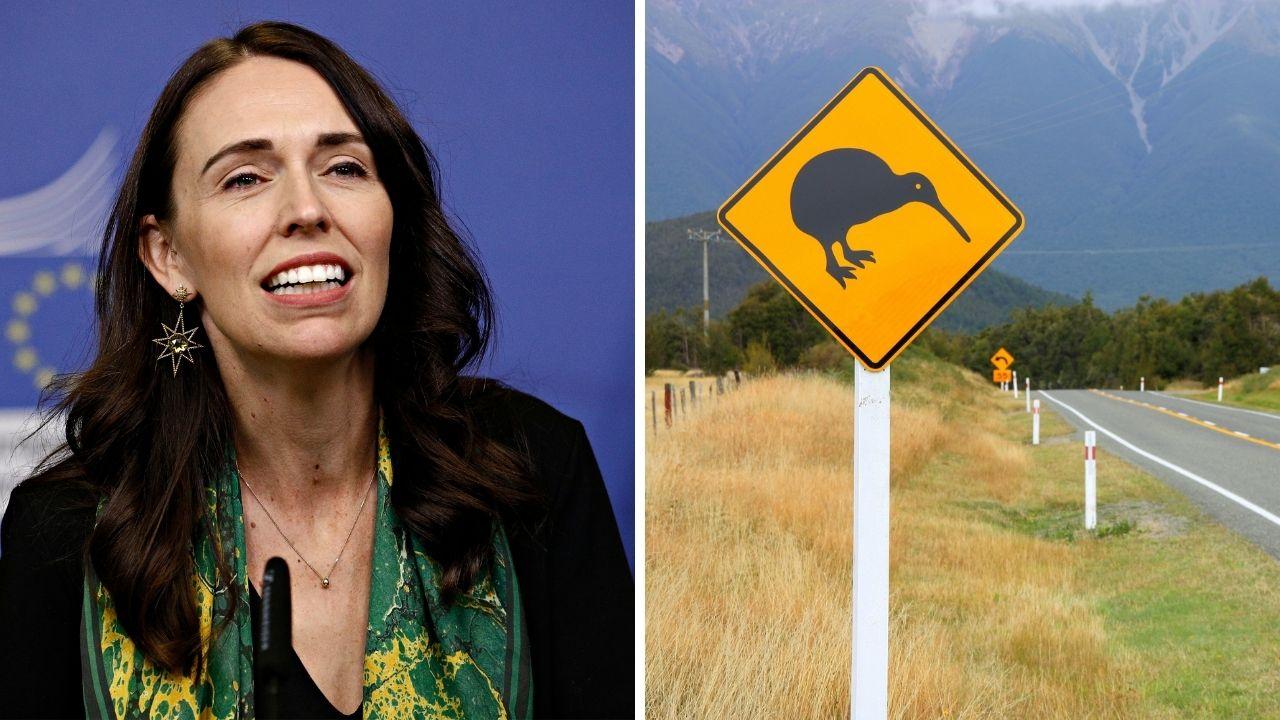 Jacinda Ardern NZ border open