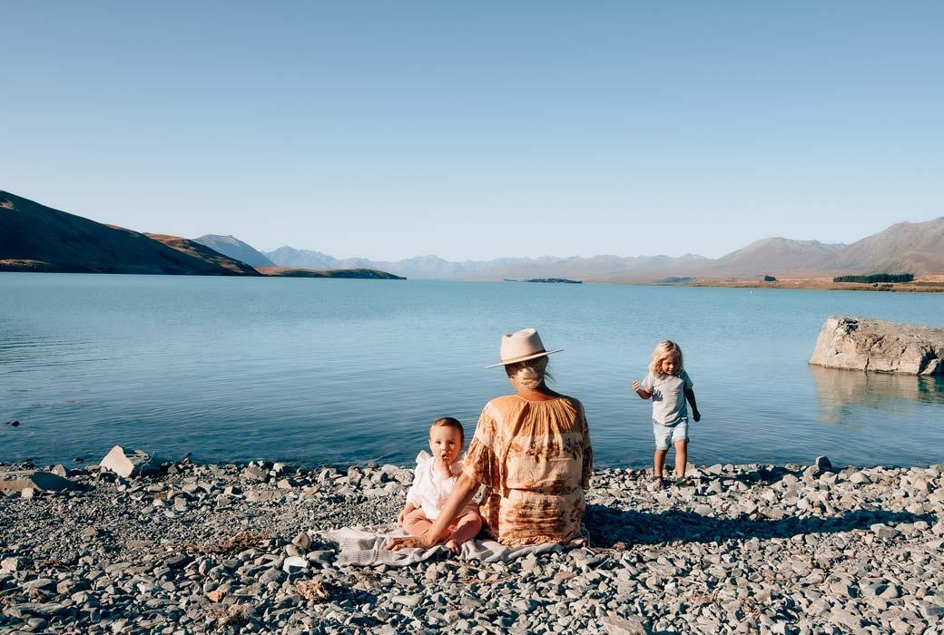 The stunning shores of Lake Tekapo