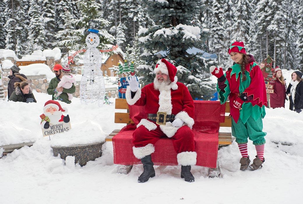 family white christmas sun peaks