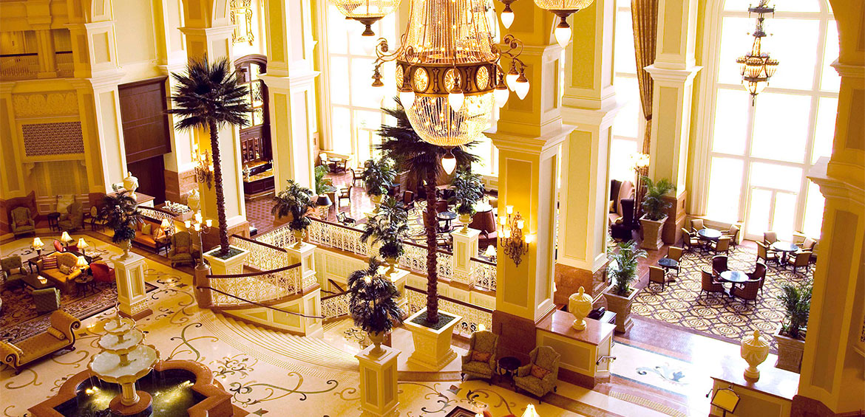 Lobby at Tokyo Disneyland Hotel