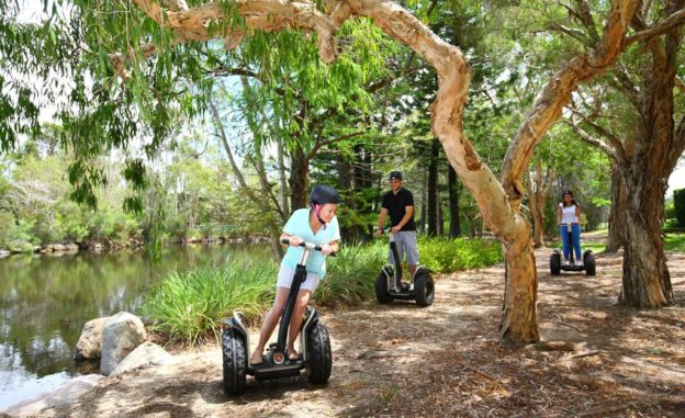 Segway ride coffs Harbour with kids