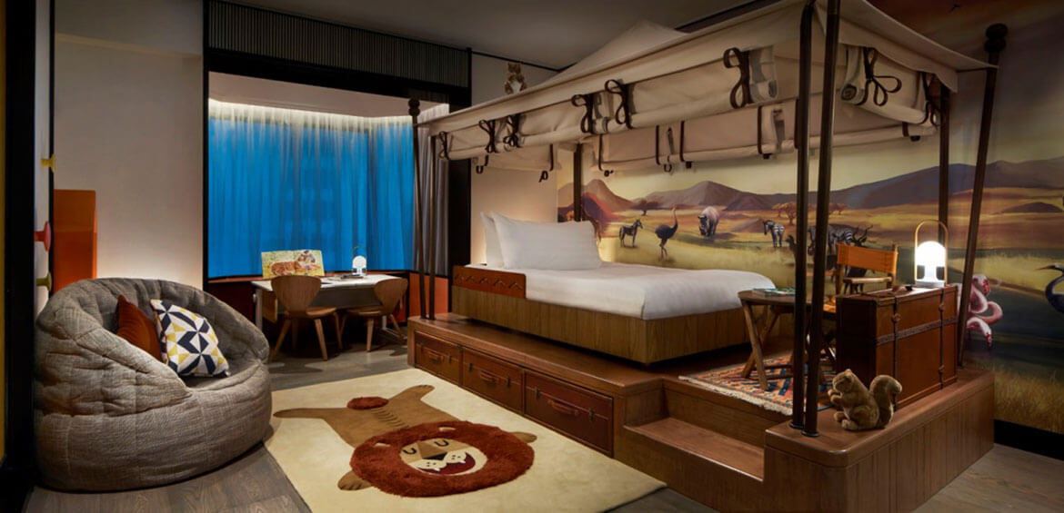 Tower Wing Themed Family Suite