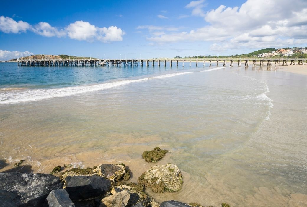 Jetty beach things to do in Coffs Harbour with kids