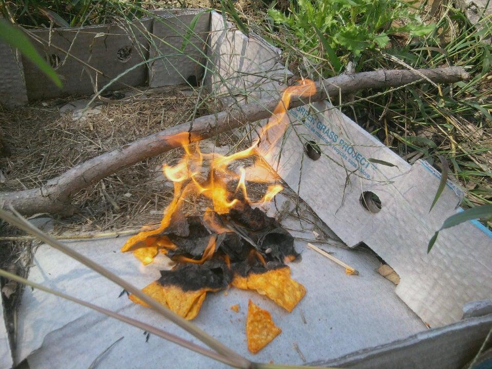 kindling firestarter camping hack