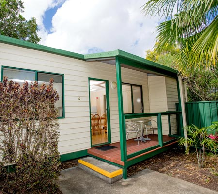 Two-Bedroom cabin at Hervey Bay Tourist Park
