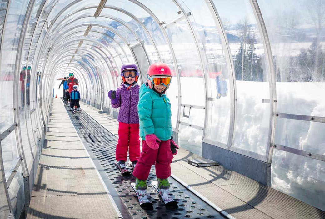 The facilities for kids to learn to ski at Jackson Hole are excellent