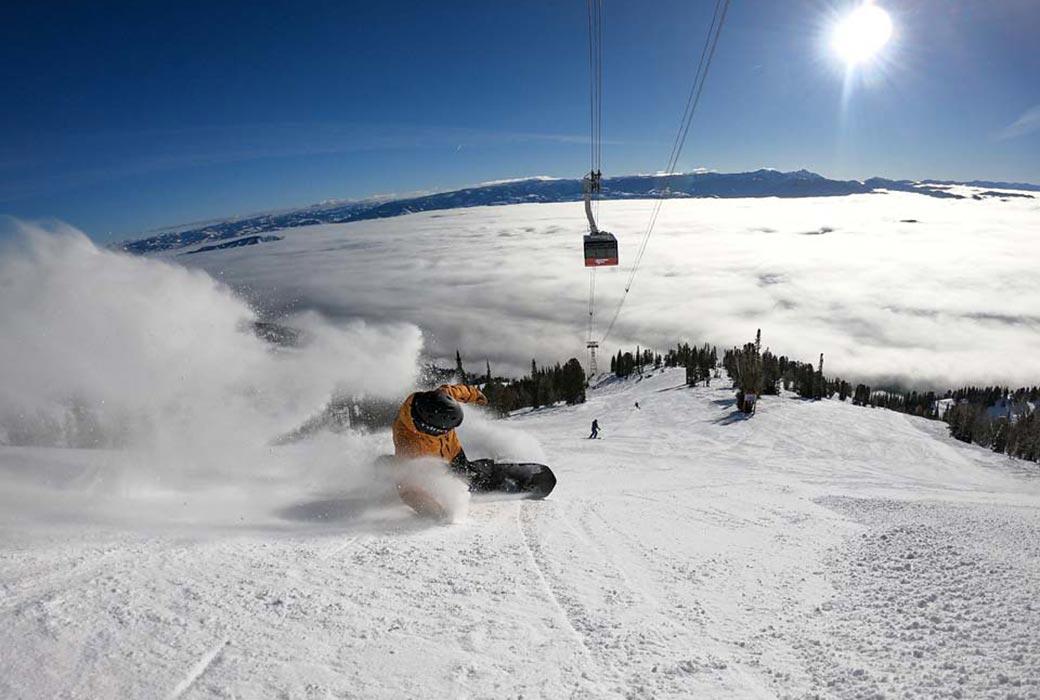 Jackson Hole is known for steep terrain