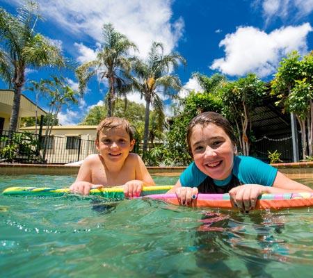 Swimming pool at Hervey Bay Tourist Park