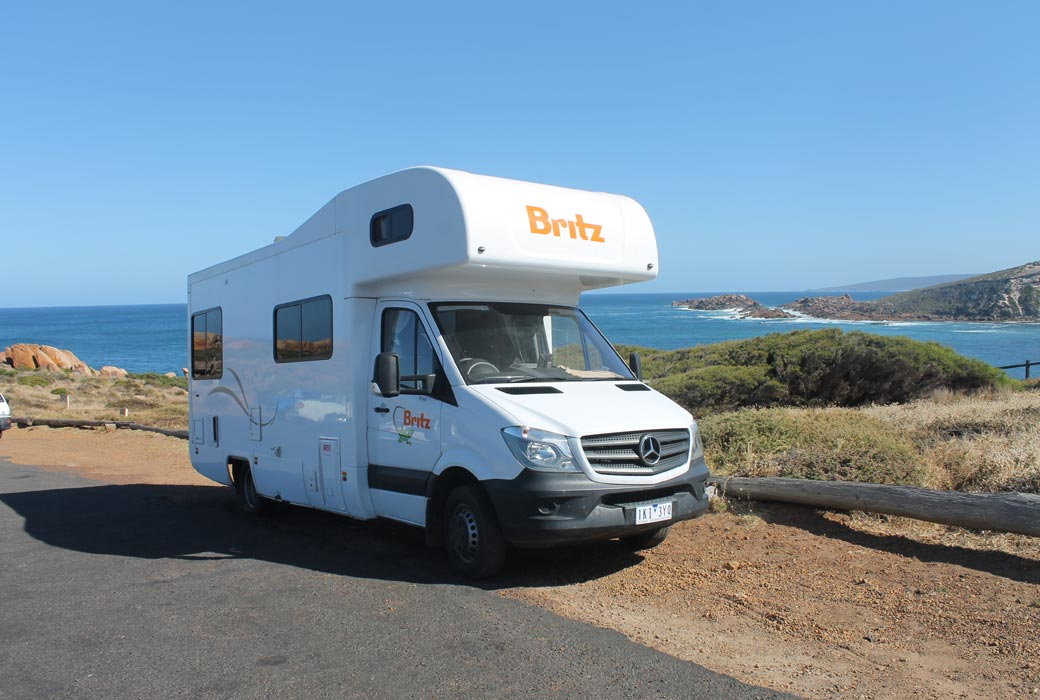 The Jackson's six-berth Britz campervan