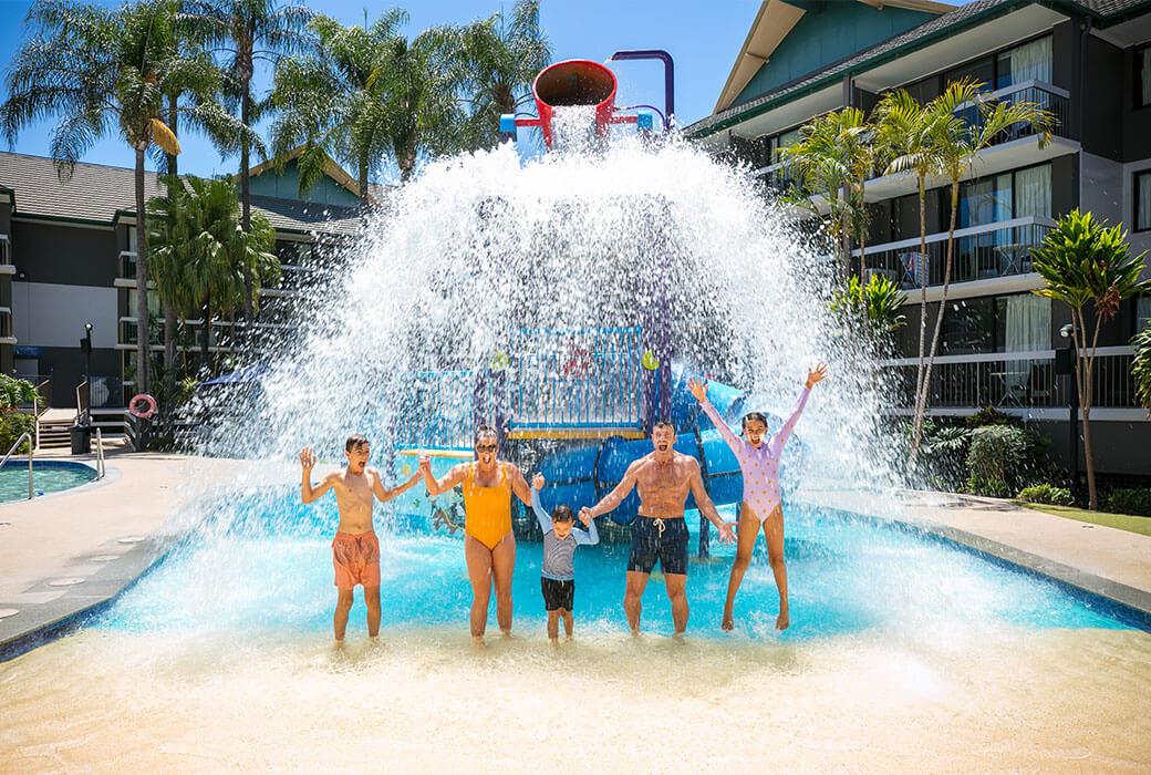 Water park at Paradise Resort Gold Coast