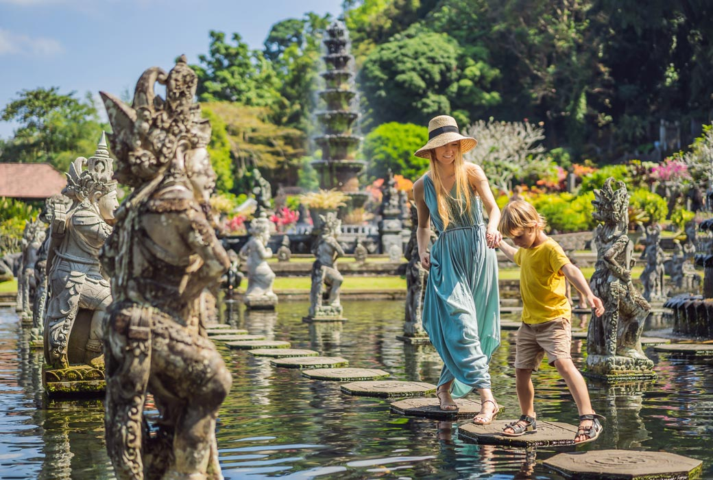 Bali day trip to Taman Tirta Gangga water palace