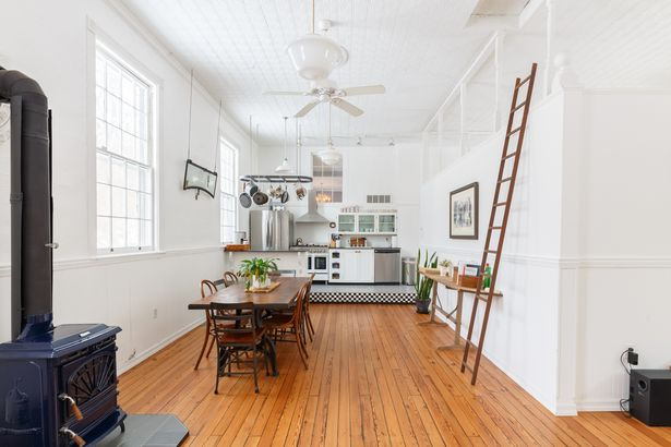 19th century school house airbnb home