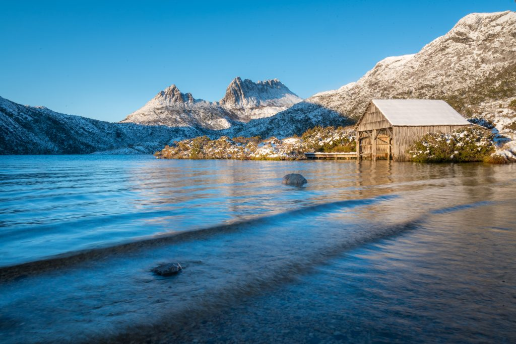 Cradle Mountain in snow. Imaage: Paul Fleming
