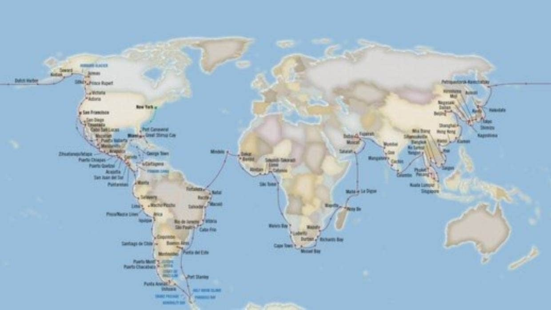 Oceania cruise around the world