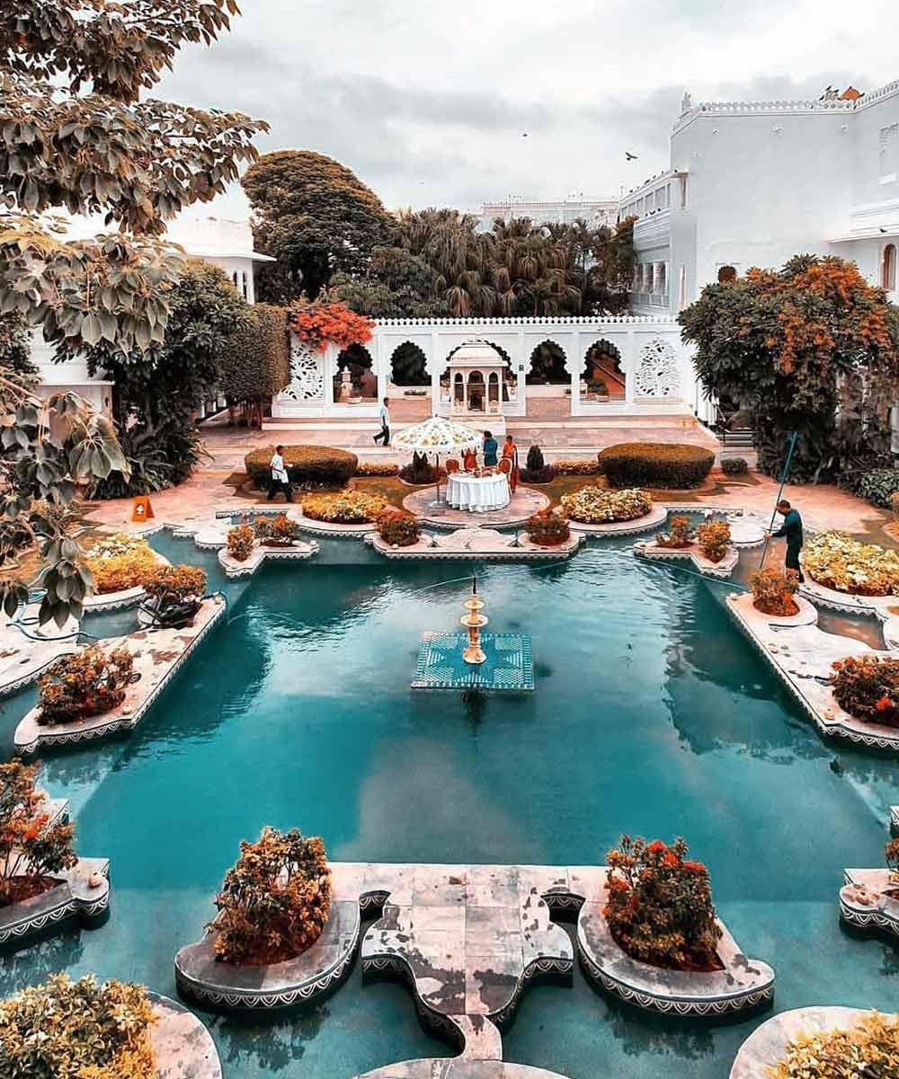 Best family resorts in India Taj Lake Palace, Udaipur