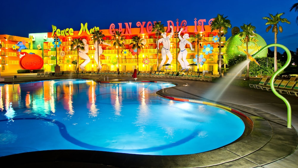Disney hotels Pop Century