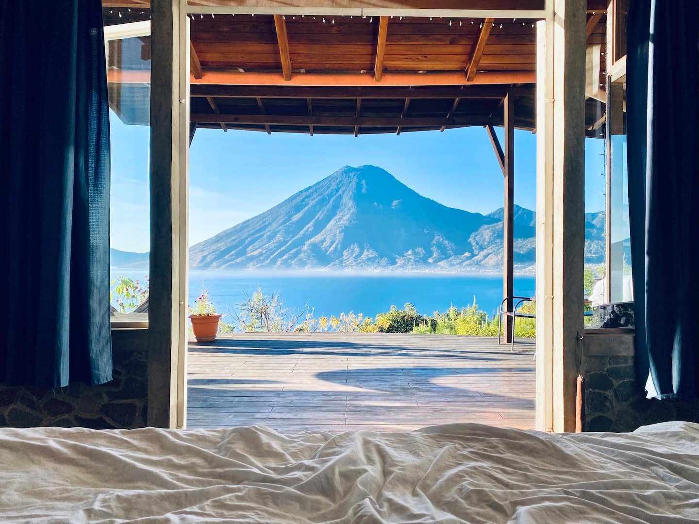 Lake view lodge most popular Airbnb homes