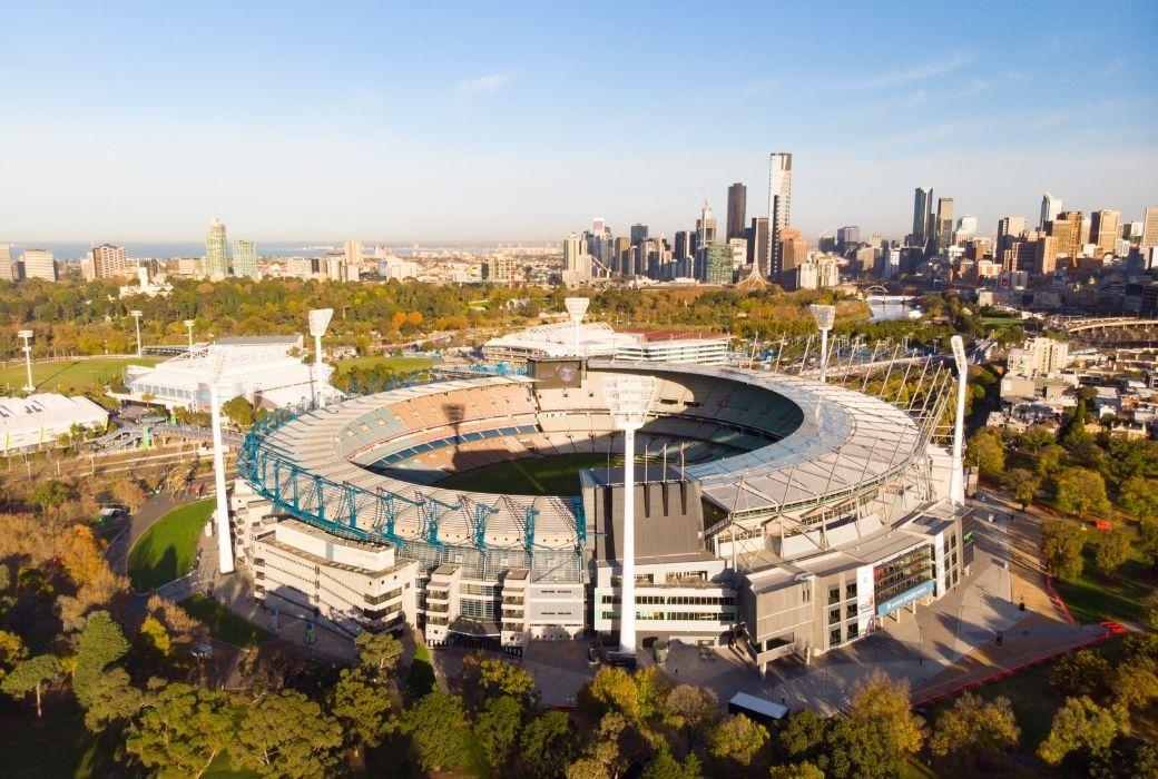 The MCG Melbourne