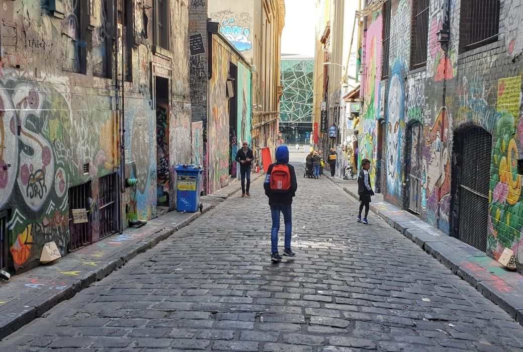 Hosier Lane things to do in Melbourne
