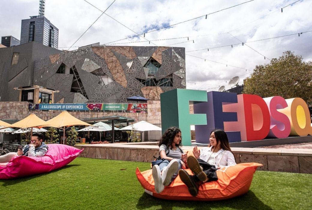 Things to do in Melbourne Federation Square